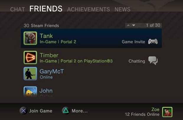 Portal 2 for PlayStation 3 Steamworks Details