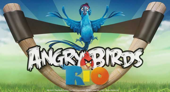 Angry Birds Rio Downloaded 10 Million Times Mobile News  Angry Birds