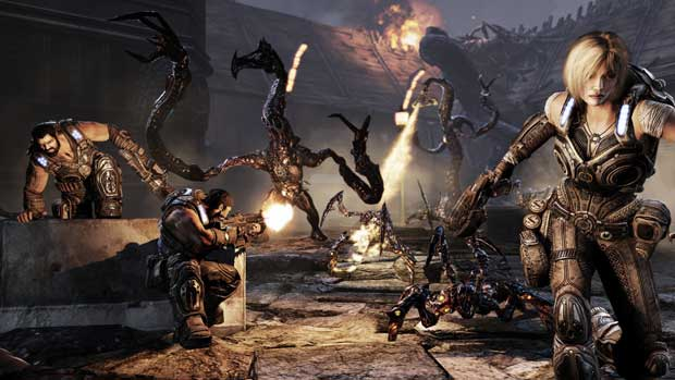Epic Shooting For One Million in the Gears of War 3 Beta News  Gears of War 3