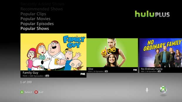 Hulu Plus Confirmed, Gold Members Get Free Access