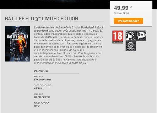 Battlefield 3 vs Call of Duty: Showdown Marked for November News Xbox  Battlefield 3