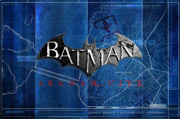 Batman Arkham City Map Revealed Attack of the Fanboy