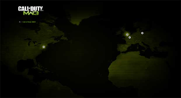 Modern Warfare 3 Official Website Goes Live