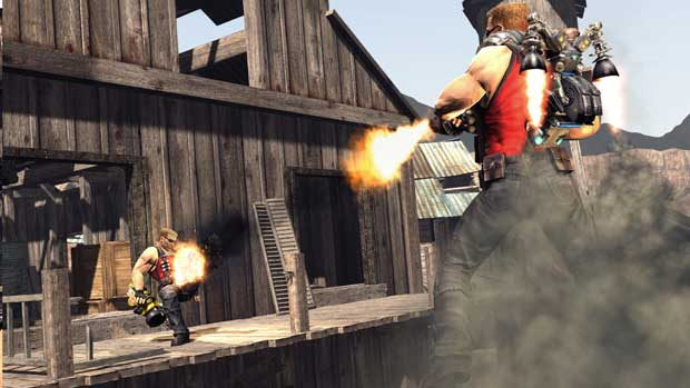 Duke Nukem Forever Multiplayer Action Caught on Screen News Screenshots Xbox  Duke Nukem Forever