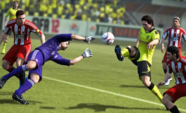 Andy Gray No Longer A Part of FIFA Games News PlayStation  FIFA 12