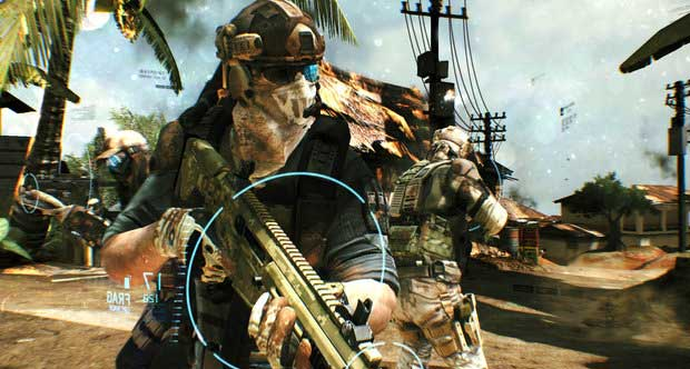 Hands on with Ghost Recon Future Soldier E3 News  Ghost Recon Future Soldier E3
