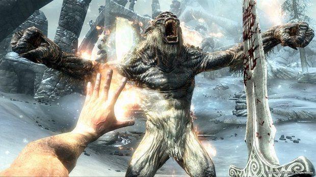 The Elder Scrolls V: Skyrim Gameplay Will Have You Drooling E3 News Videos  The Elder Scrolls V: Skyrim