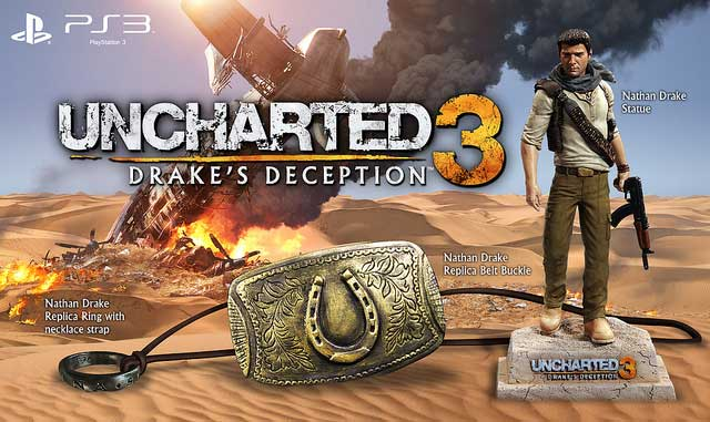 Uncharted 3 Pre Order Bonuses Detailed Attack Of The Fanboy