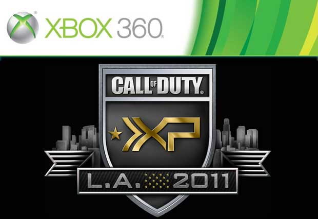 Xbox 360 The Official Console of Call of Duty XP Event