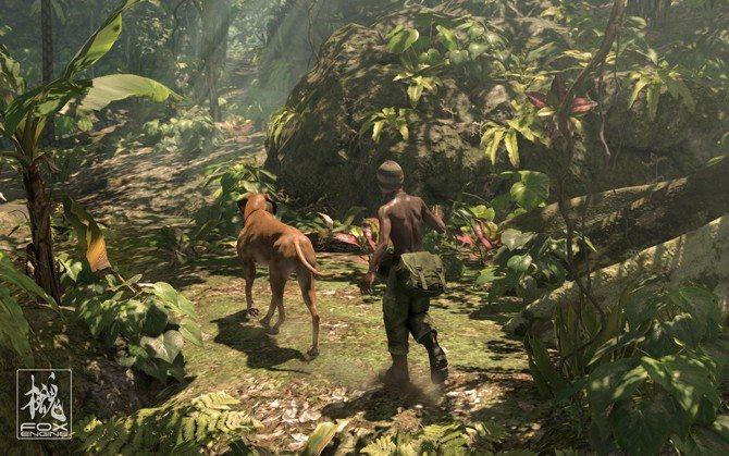 Fox Engine Screenshots from Kojima