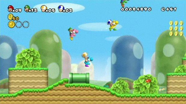 Super Mario Bros. Mii Looks No Different E3 News Videos  WIIU