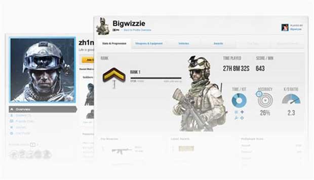 Battlelog Details Arrive for the Battlefield 3 News PlayStation  Battlefield 3