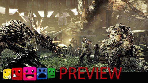Gears of War Beast Mode Preview