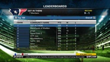 Madden 12 Revamps Community Features