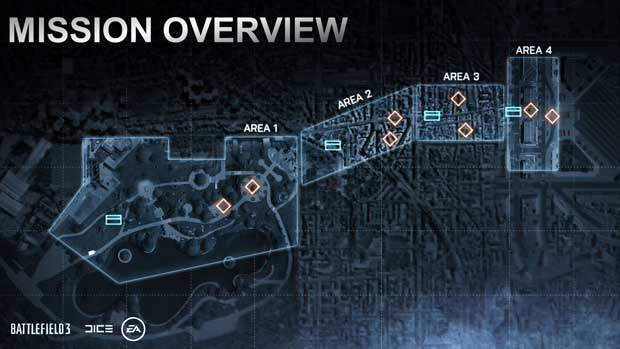 Battlefield 3 Map Progression Key to Multiplayer