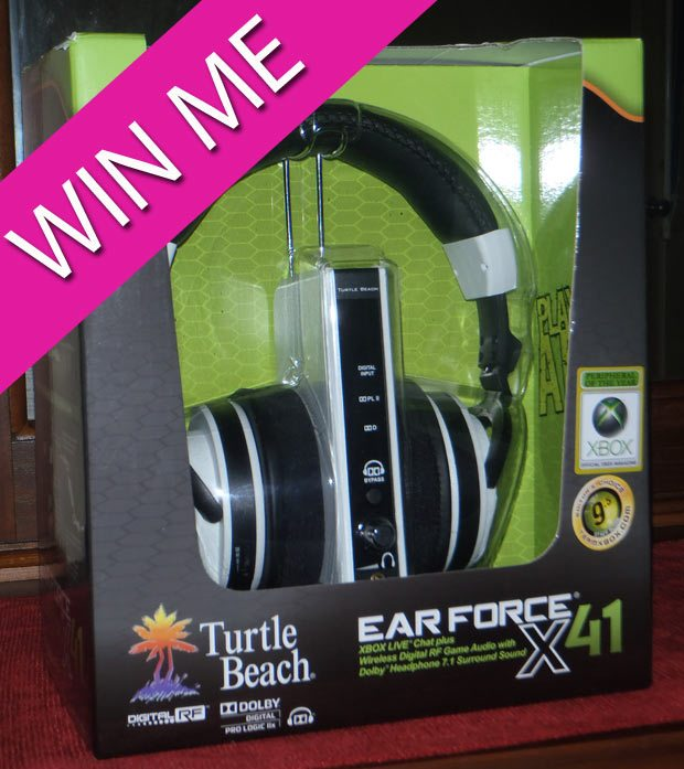 Win A Pair of Turtle Beach Wireless Gaming Headphones