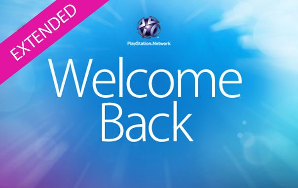 Sony Extends PSN Welcome Back Package Until Tuesday