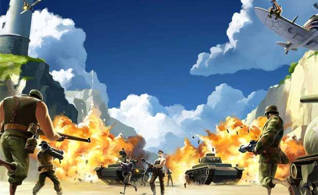The Battlefield Heroes War Spreads to Wake Island Videos