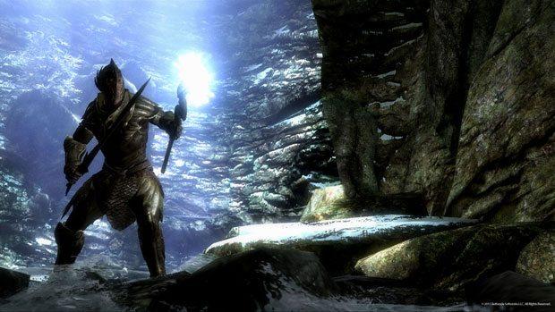 The Elder Scrolls V: Skyrim Cave Exploring