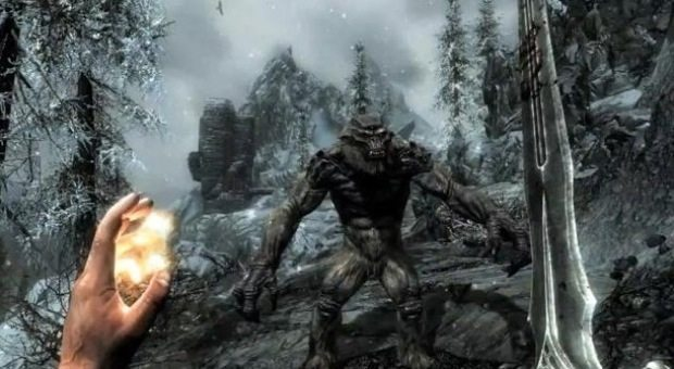 The massive world of Skyrim to fit on one disc for Xbox 360 News  Skyrim