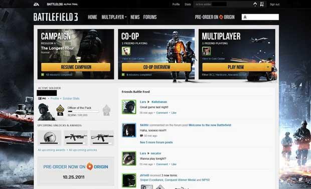 Battlefield 3 on PC will require Origin