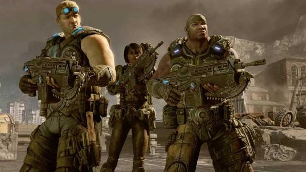 Gears of War 3 Cole & Baird