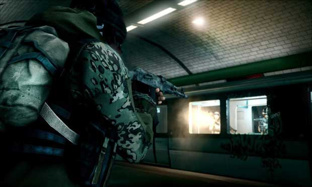 Battlefield 3 Metro Station