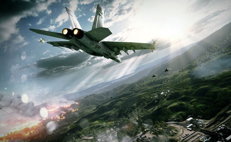 Battlefield 3 Caspian Border Gameplay, Now with more jets