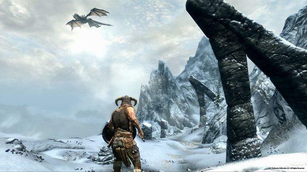 The Elder Scrolls V: Skyrim Dragon Approaches
