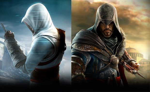 Watch the Ezio, Altair Assassin's Creed Revelations mash-up News PlayStation Videos  Assassin's Creed: Revelations