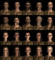 Elder Scrolls V: Skyrim Race Presets News PlayStation Screenshots  Skyrim