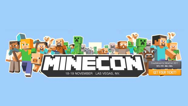 Minecon tickets available Now News