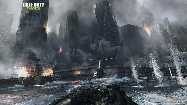 Modern Warfare 3 coming to life in concept art