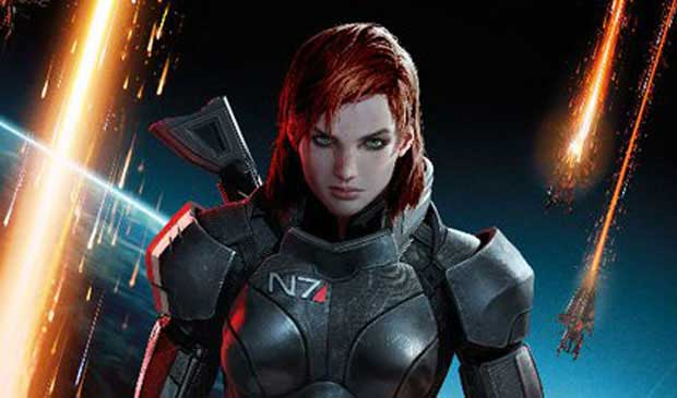 Red Headed FemShep FTW in Mass Effect 3 contest