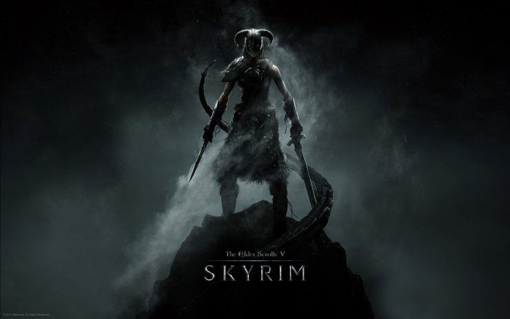 elder scrolls v skyrim female dragonborn attack of the