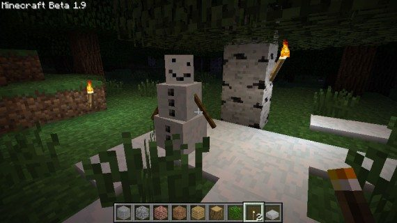 The Minecraft Snow Golem Mob Coming Soon
