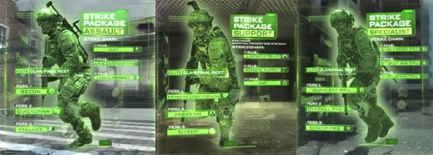 modern warfare 3 packages