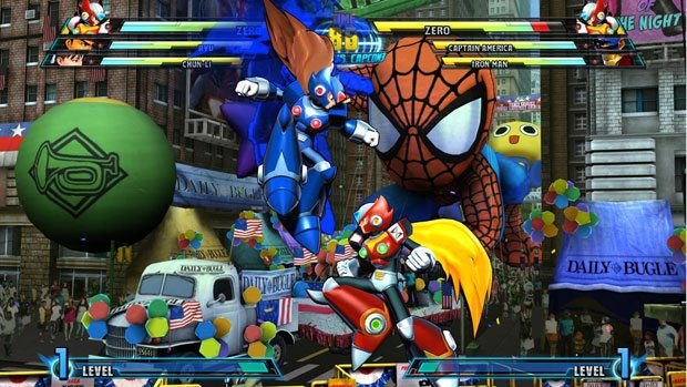 Ultimate Marvel Vs. Capcom 3 Will Launch with PS Vita