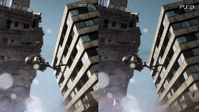 Battlefield 3 Xbox 360/PlayStation 3 Comparison Screens   Attack of