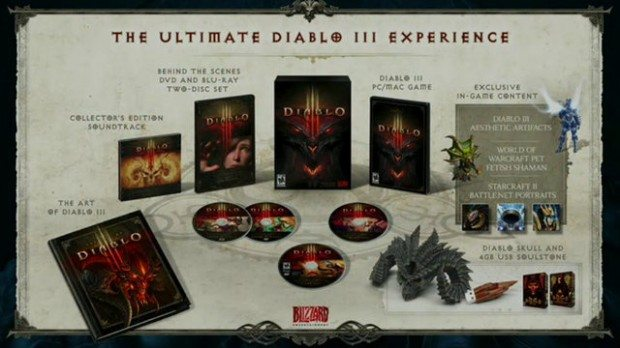 Diablo III Free for WoW Annual Pass Subscribers, Limited Edition Revealed News  Diablo III BlizzCon