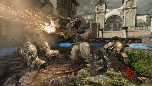 Epic Nerfs Gears of War 3 Sawed Off Shotgun on Fan Request News  Gears of War 3