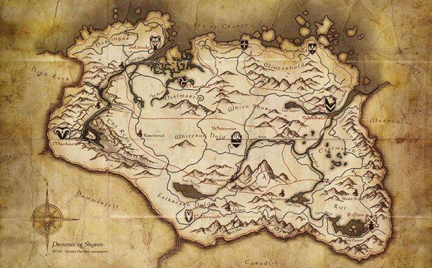 map-of-skyrim