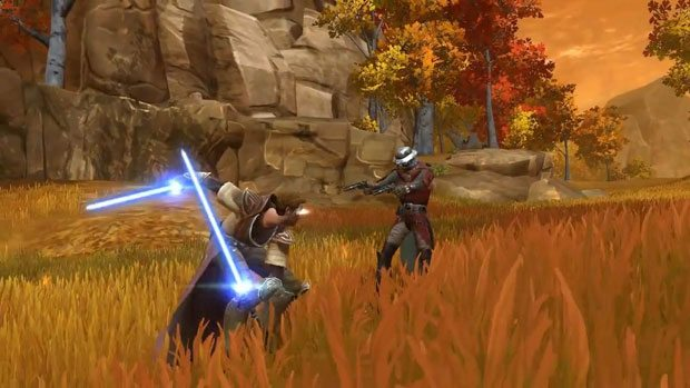 Choosing a side in Star Wars: The Old Republic Videos  SWTOR