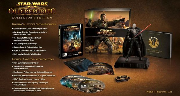 Star Wars: The Old Republic Collector's Edition is Out of the Box