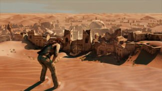 Nathan Drake looks thirsty in latest Uncharted 3 screenshots