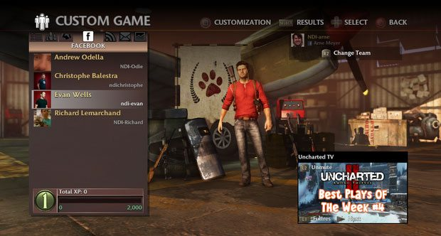 Play Create and Share in Uncharted 3: Drake's Deception