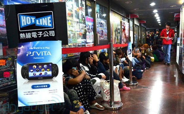PS Vita Pre-Orders Strong in Asia