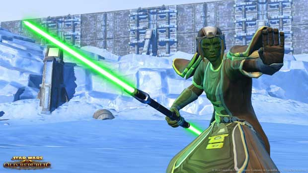 A Sneak Peek At the Jedi Consular of SWTOR News  SWTOR