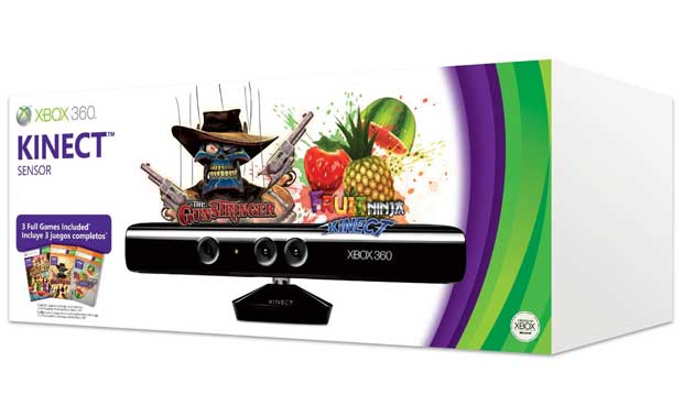 Xbox Bundling Three Games with Kinect for Holiday Season