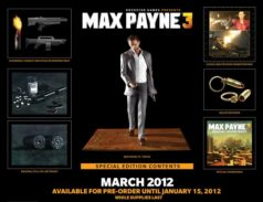 If You Want the Max Payne 3 Collector's Edition, Act Fast